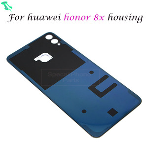 Image 3 - For huawei Honor 8X 8 X Back Housing Battery Rear Door Cover Case 3D Glass Replace Parts Repair Replacement Back Case