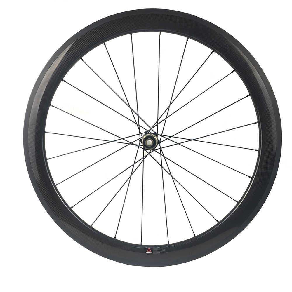 Cubo de disco tubular da roda do carbono 24/30/38/50/60/88mm completo carbono cyclocross bicicleta rodado novatec 411 412 centerlock/6 botls 700c