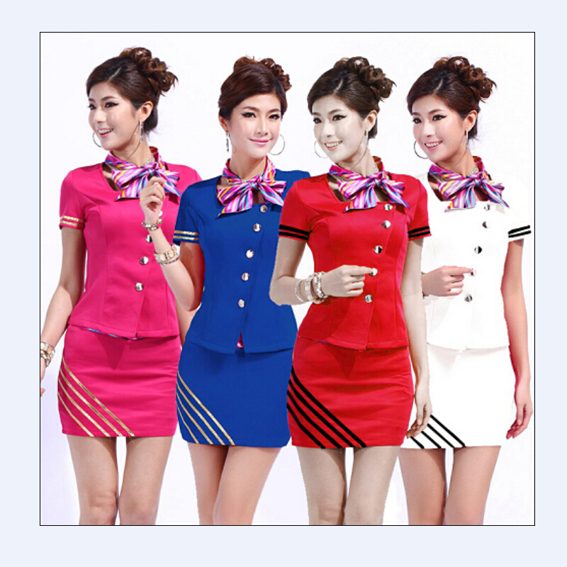 Online buy wholesale receptionist uniforms from china for Uniform spa manager