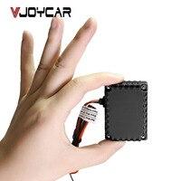 VJOYCAR T0024 רכב GPS Tracker מיני עמיד למים 12-60 V רכב אופני Moto אופנוע נסתר קל קואורדינטות וכתובת ומפת גוגל SMS