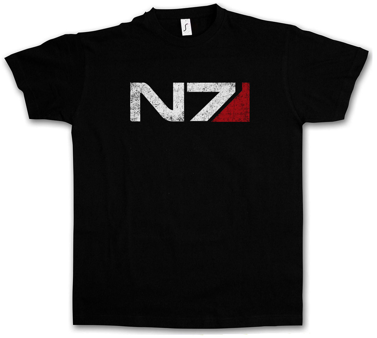 Besorgt N7 Normandie Logo T-shirt Masse Kommandant Shepard Cerberus Pc Spiel Wirkung T Hemd Kühlen Casual Stolz T Hemd Männer Unisex Mode Hochwertige Materialien