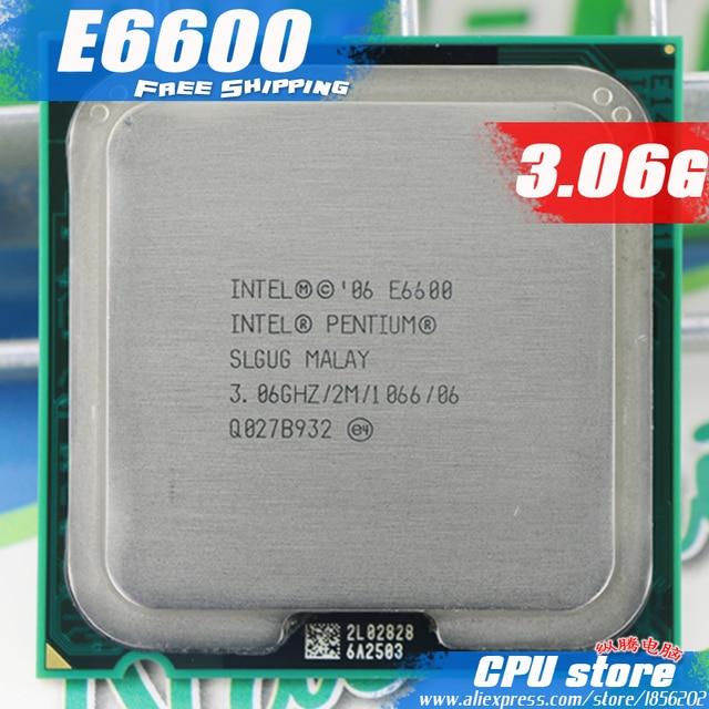 INTEL PENTIUM DUAL CORE E6600 TREIBER
