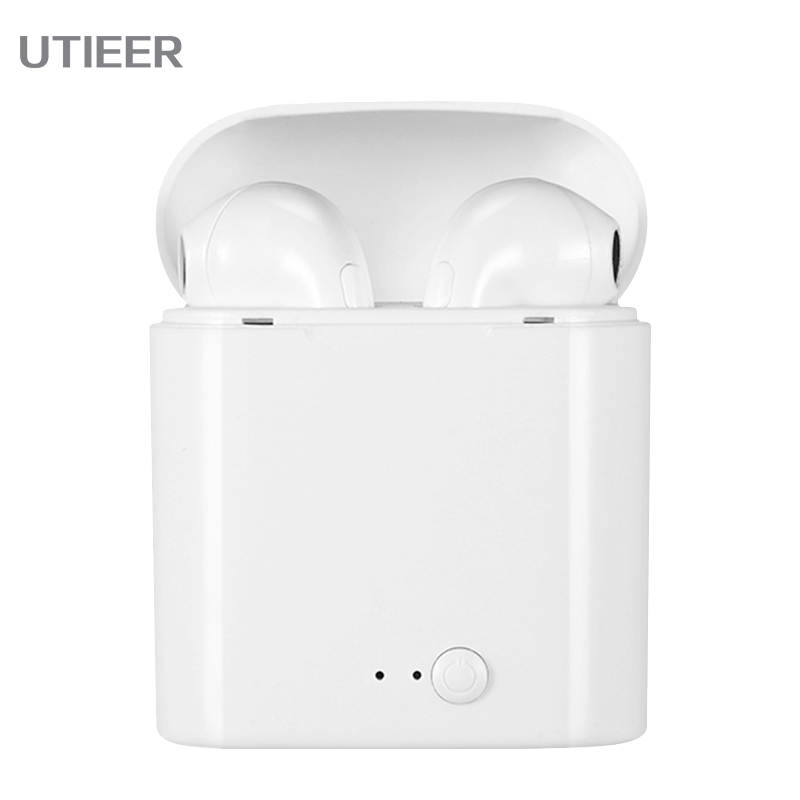 New i7S TWS Bluetooth Headphones wireless Earphones Music