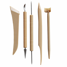 super popular f3252 b8845 DINIWELL 5 Pcs DIY Pottery Sculpture Knives Set With Needles Professional  Modeling Clay Supplies Pottery Ceramic