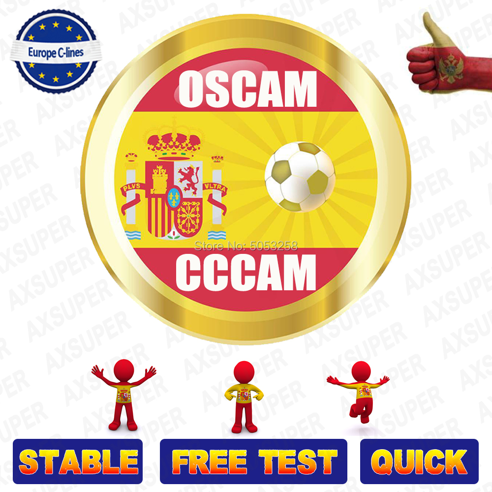 Europe Cline Cccam Server Ccam 7 Lines Oscam Europe For DVB-S2 2 Years V8 Nova Freesat V8 Super Satellite Tv Receiver