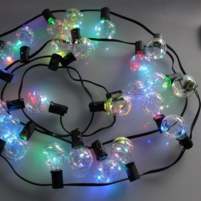Bulbs Garden Globe Led String Light Fairy Garlands Light For Indooroutdoor Decorative Lights For