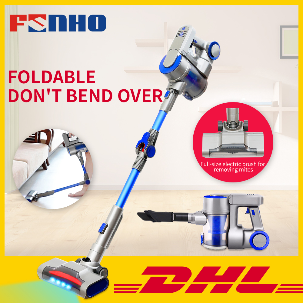 FUNHO BH 603 Wireless Vacuum Cleaner 9000pa Powerful Suction Led Light Stick Handheld Portable Vacuum 4