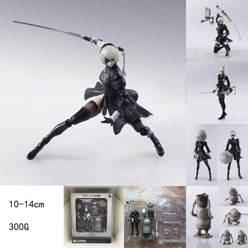 PS4 PC Game NieR:Automata Ferrite YoRHa No. 2 Type B 2B Cartoon Toy PVC Action Figure Model Doll Gift все цены