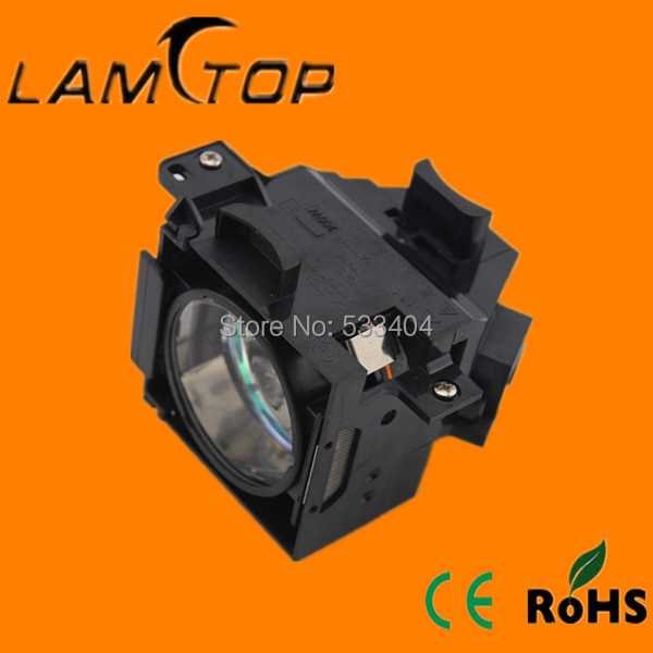 Free shipping   LAMTOP  compatible  Proejctor  lamp with housing   for   EMP81 free shipping lamtop compatible bare lamp for u310w
