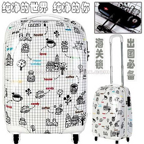 20inch recommend ito Japan New arrival !trolley luggage/travel suitcase pure world special price offer