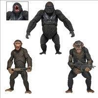 NEW hot 23 cm Rise of the Planet Of the Apes Caesar Koba nhà sưu tập hành động hình đồ chơi món quà Giáng Sinh doll với hộp