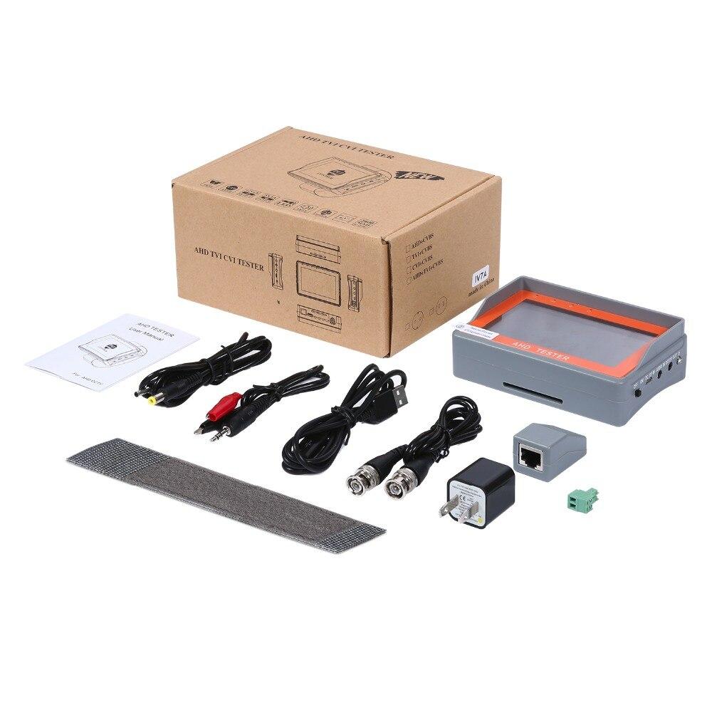 ANNKE 4.3 pouces HD AHD CCTV testeur moniteur AHD 1080 P caméra analogique test PTZ UTP câble testeur 12V1A sortie - 6
