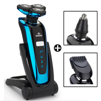 Electric shavers for men Wet/dry 5D Rechargeable Waterproof Shaver Cleaning Safety Razors Body machine for Shaving Hair Removal