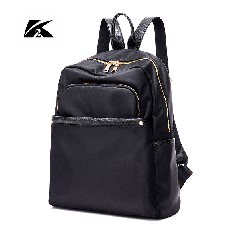 KVKY 2017 New Women Backpack Fashion Women nylon Backpacks Teenage Girls schoolbags mochila High Quality Travel