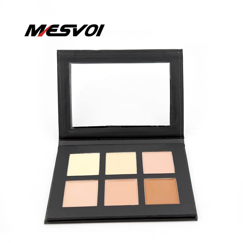 Cream Contour Palette Kit Pro 6 Colors Concealer Makeup Palette 1pcs Concealer Face Primer Net 30g All Skin Types Net 30g ribecs 30g