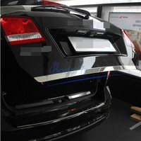 Rear Trunk Steamer Trim 2009 2010 2011 2012 2013 2014 2015 2016 2017 2018 For Dodge Journey JUCV Fiat Freemont Car Accessories