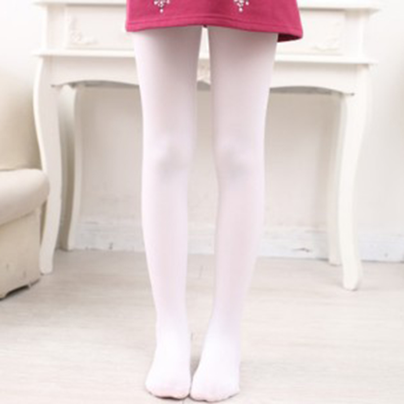 New Child Kids Girls Ballet Dance Opaque Tights Pantyhose Hosiery Stockings ...