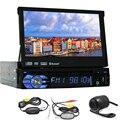 Свободная Камера 1din Авторадио Музыку iPod Аксессуар EQ Универсальный Dvd-плеер Автомобиля Видео USB Автомагнитолы Навигации GPS Аудио Стерео