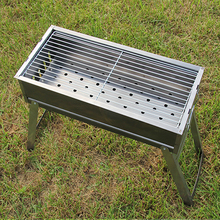Charcoal iron barbecue grill bbq grill for camping outdoor cooking outdoor camping hiking charcoal grill picnic bbq grill for barbecue grill oven outdoor stove