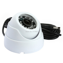 Plstic case 1.3megapixel MJPEG CCTV security dome Iinfrared IR Night vision camera usb with 2.8mm lens