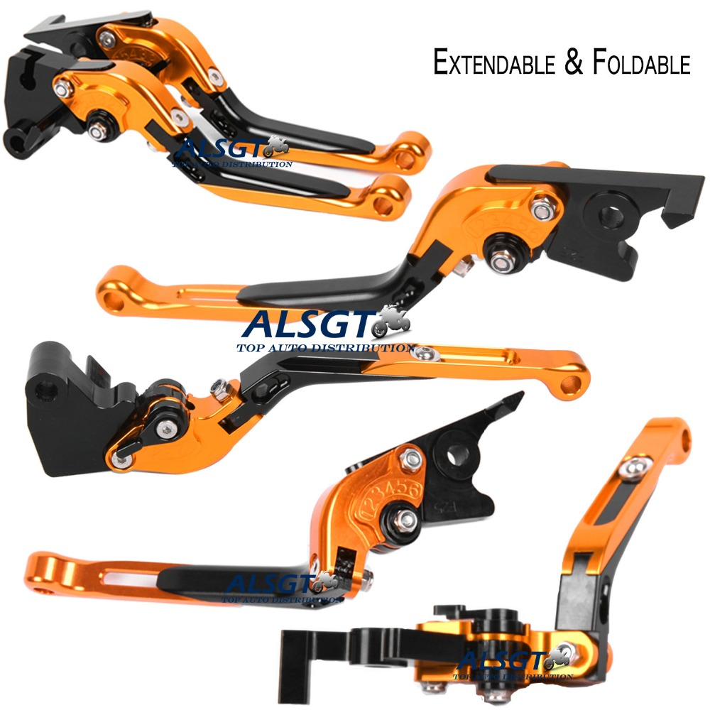 ФОТО For Suzuki GSX1250 2010 Foldable Extendable Brake Clutch Levers Motorbike Brakes Folding&Extending CNC Levers Hot Sale Hot Sale