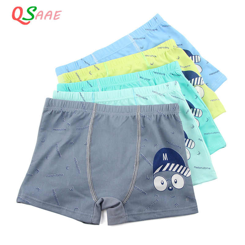 5 Pcs/lot Cartoon Boys Underwear Soft Breathable Kids Boxer for 5-12Yrs Baby Panties Kawaii Boy Briefs Underpants