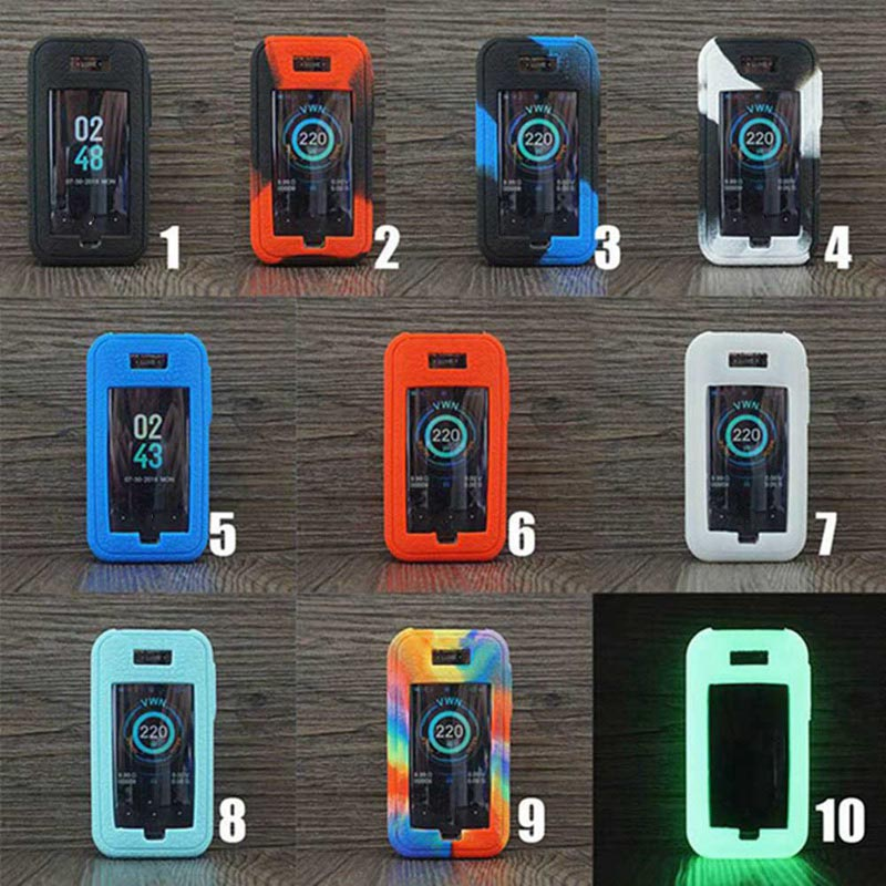 Silicone Case For VAPORESSO LUXE 220W ZV KIT Kit Mod Box Protective Cover Skin For Accessories Wrap Sleeve Gel