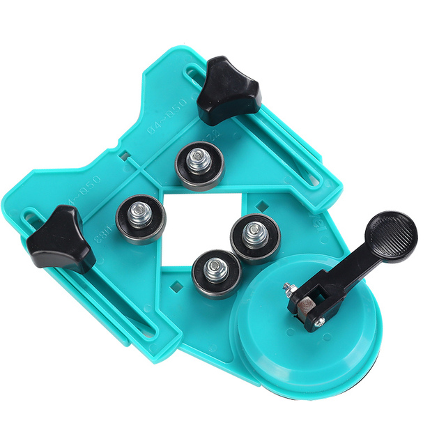 Pofession Ceramic Tile Glass Locator Diamond Opening Positioning Guide Drill Bit Guide Hole Clamping Range Construction Tools 1