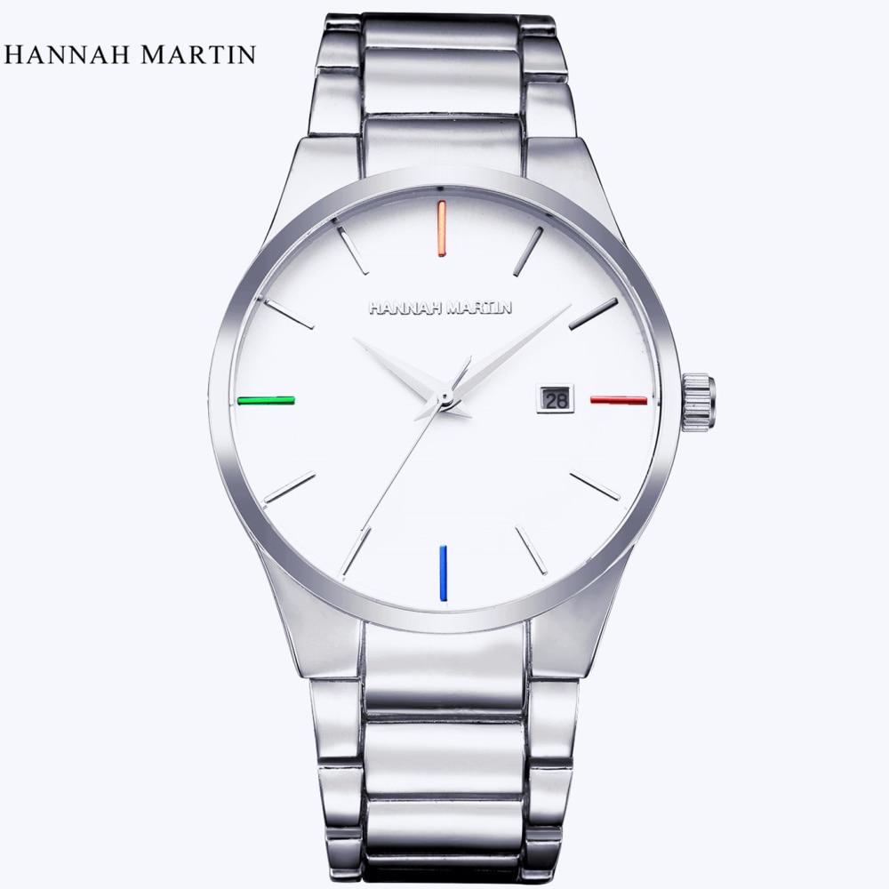 Hannah Martin Luxury Brand Analoge sport Polshorloge Display Datum - Herenhorloges - Foto 3