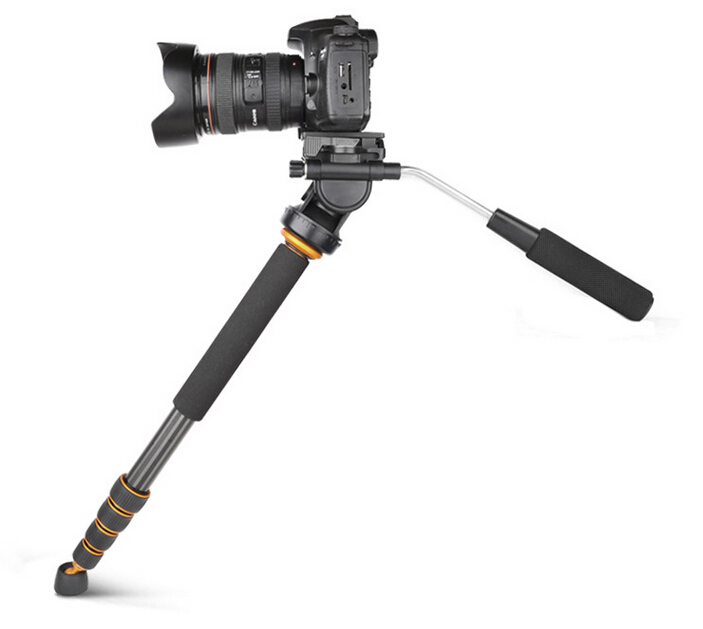 QZSD-Q188C Carbon fiber Camera monopod,portable professional DSLR monopod For Canon Eos Nikon DSLR, Max height is 1680mm цена