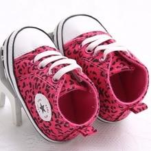 Leopard Toddler Shoes Newborn Infant Baby Childlren Girls Bo