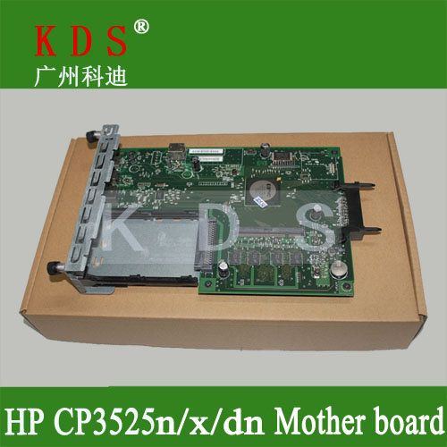 Original matherboard for HP CP3525 formatter board for HP laser printer parts CE859-60001 remove from new machine formatter pca assy formatter board logic main board mainboard mother board for hp m775 m775dn m775f m775z m775z ce396 60001