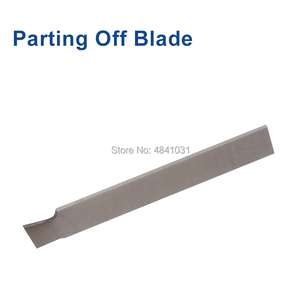 Image 4 - 8mm & 10mm Parting Off Tool Holder with Parting Blade SIEG S / N: 10145 Cut off tool and cutting blade