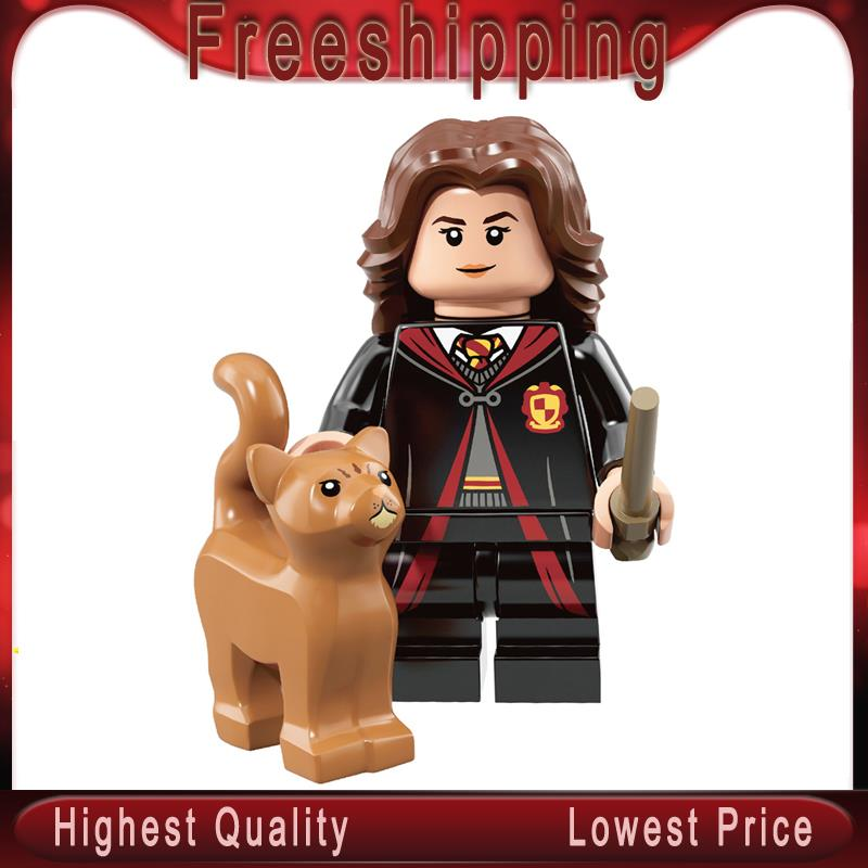 Single Sale Harry Action Figure Potter Hermione Dobby Lord Voldemort Ron Weasley Building Blocks Gifts Toys For Children WM560