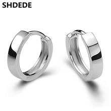 SHDEDE Small Hoop Earrings For Women Men Classic Simple Vintage Fashion Jewelry Korea Trendy Accessories +*WHEB156