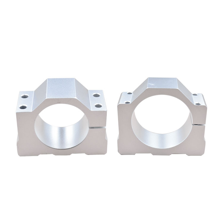 ER11 Motor Mounts Inner Diameter 52mm Spindle  Fitted Seat With 4pcs Screw   Bracket  1pcs