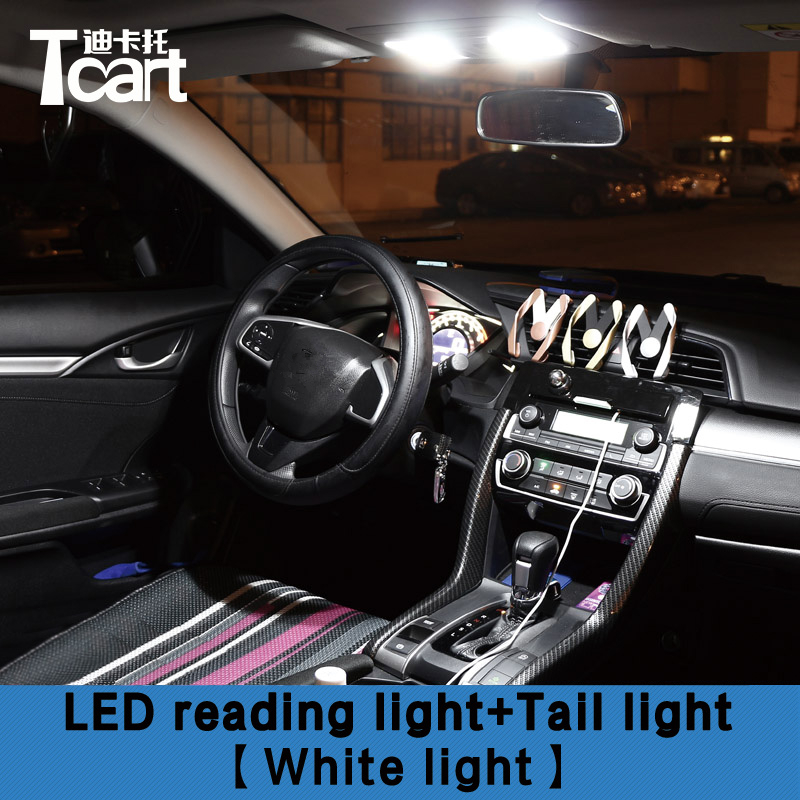 tcart 4 x error free led interior lights for honda civic 2016 2017 2018 signal lamp aliexpress us 13 0 tcart 4 x error free led interior lights for honda civic 2016 2017 2018 signal lamp aliexpress