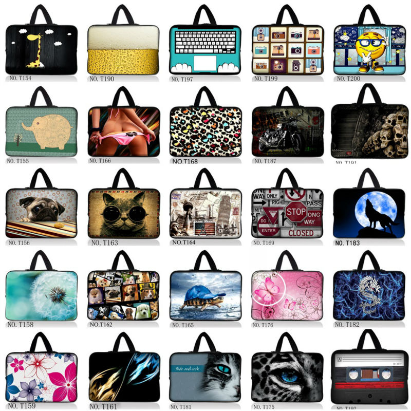 Cartoon Fruit 15 15.6 Laptop Carry Sleeve Case Bag Pouch For HP DELL ASUS Toshiba Acer