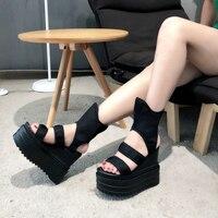 European style summer high shoes women hip hop street dance socks shoes casual simple shoes breathable deodorant shoes women