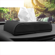lsrtw2017 leather tissue box for hyundai solaris ix35 i30 elantra accent tucson santa fe ix25 sonata Maxcruz