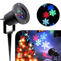House LC New Outdoor Waterproof LED Light Projector White Moving Snowflake Projection Lamp Hot 17Nov24 Drop Ship F