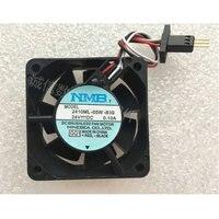 NMB 2410ML-05W-B39 24V 0.10A Fanuc Fanuc Ventilador com original plugue