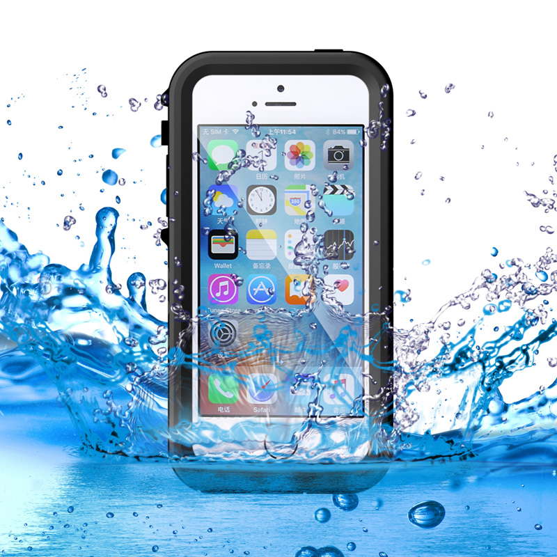 Anti shock Shockproof Dustproof Underwater Diving Waterproof Phone Cases Cover For Apple