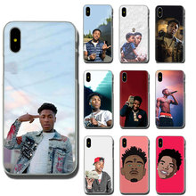 YoungBoy Never Broke Again Lil Baby Hard Phone Case for Apple iPhone 11 Pro XR XS Max X 8 7 6 6S Plus