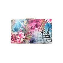 Druck Frauen Handtasche Mode Camouflage Abendtasche Europäischen Und Amerikanischen Stil Chic Haspe Tasche Tragbaren Luxus Blume Falp