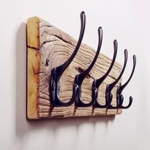 2016 Новий Високоякісний VintageCreative Solid Wood Крюк Одяг Ключовий Держатель Hat Вішалка Настін Домашня Прикраса Красивий Дизайн