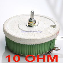(10 шт./лот) 200 Вт 10 Ом высокомощный проволочный потенциометр, реостат, переменный резистор, 200 Вт.