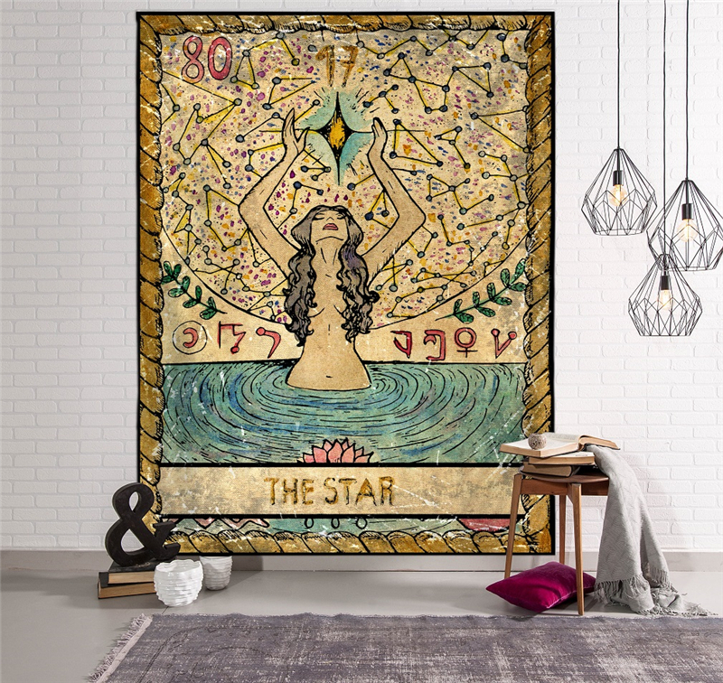 Peach Skin Tapestry Hippie Bedspread Wall Hanging Beach Towel Indian Yoga Mat Decor Twin(Installation Package)