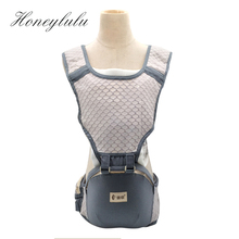 Mesh Cushion Breathable Cool Baby Carrier Fashion Storage Pocket Sling For Newborns Kangaroo For Baby Ergonomic Baby Backpack