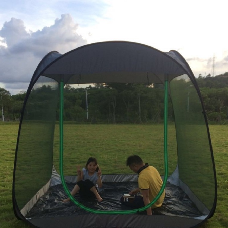 Ultralight Outdoor Mosquito Net Garden Tent Sun Shelter Summer 6 10 people Breathable Gauze tent Anti Mosquito tent-in Tents from Sports & Entertainment    2